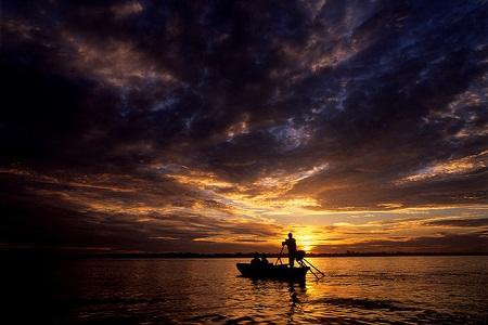 Kết quả hình ảnh cho Ảnh: Chris Guy/Flickr. Châu thổ sông Mekong)